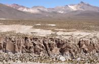Face nord des Nevados de Putre, dont le Taapaca
