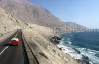 Route pour Arica