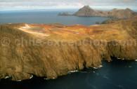 Accès à l'île Robinson Crusoé