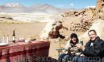 Pause dans le désert d'Atacama