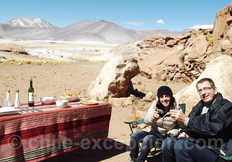Pause dans le désert d