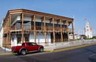 Agence de voyage à Santiago, Chili