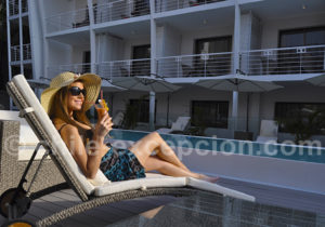 Relaxation au Terrado Arturo Prat, Iquique