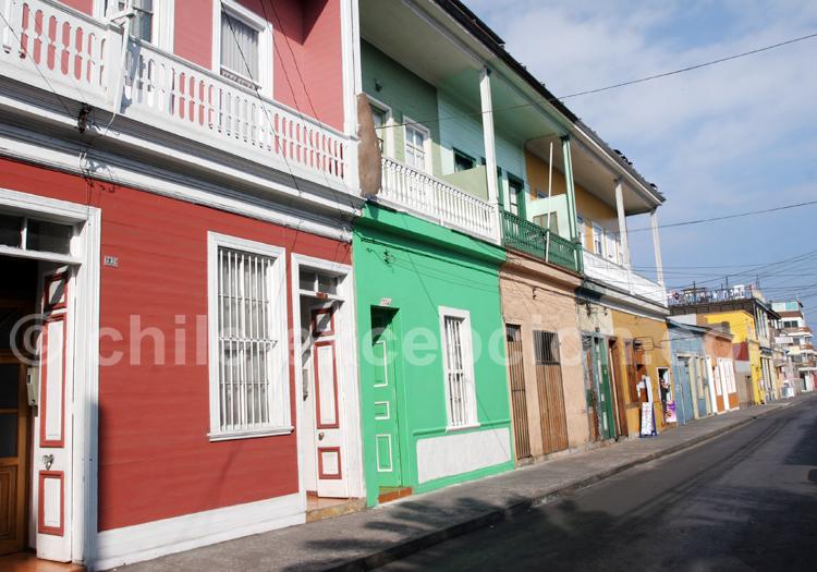 Visite d'Iquique, Chili