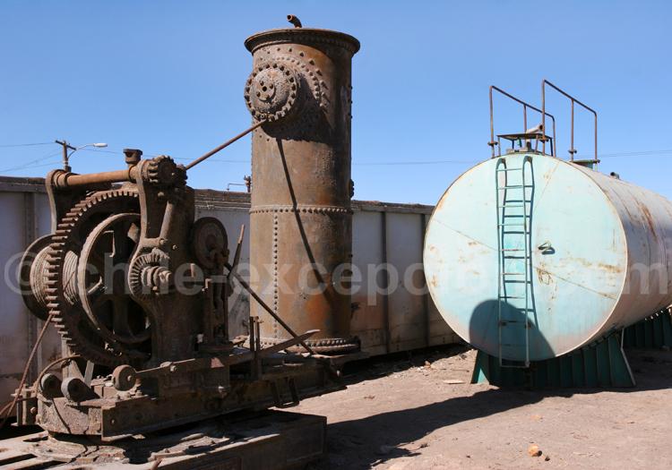 Vestiges de l'industrie minière, Nord chilien