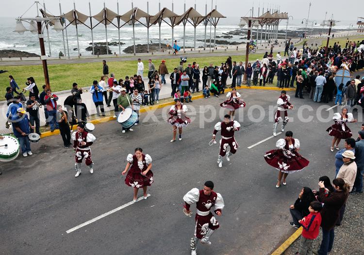 Danses traditionnelles, Iquique, Chili