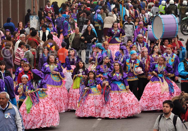 Evènement religieux, Iquique, Nord du Chili