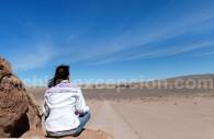 Contemplation du désert d'Atacama