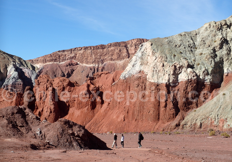 Monts colorés du nord du Chili