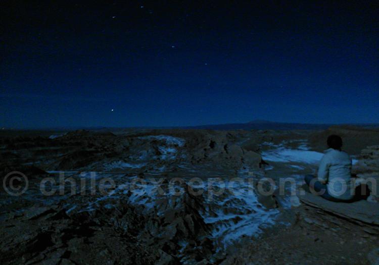 Observation astronomique au Chili
