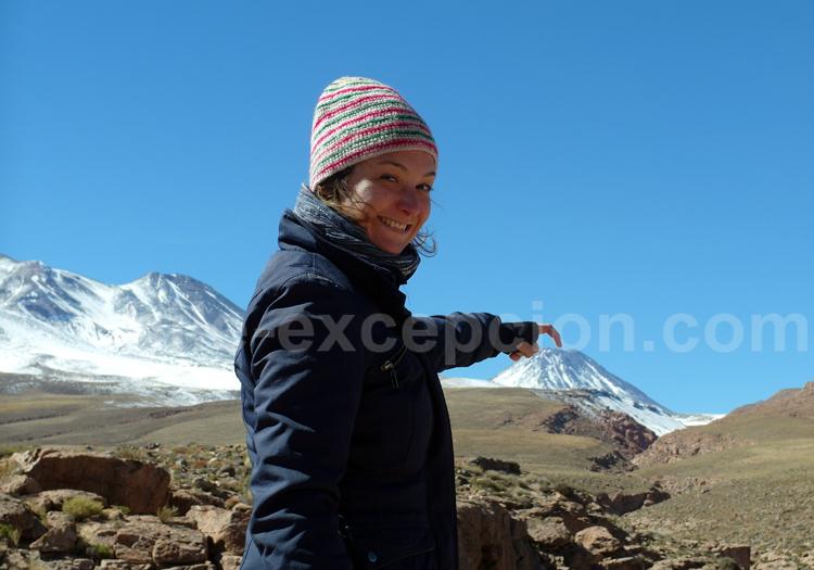 Volcan en Patagonie chilienne