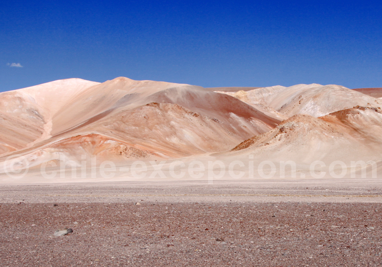 Hauts plateaux andins, Chili