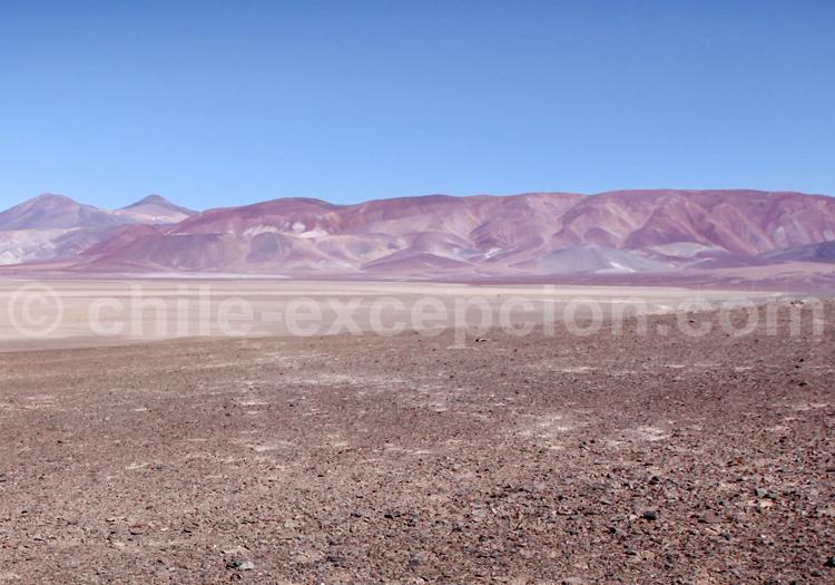 Paysage aride du Nord du Chili
