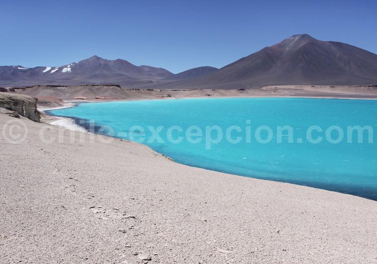 Laguna Verde, désert d'Atacama