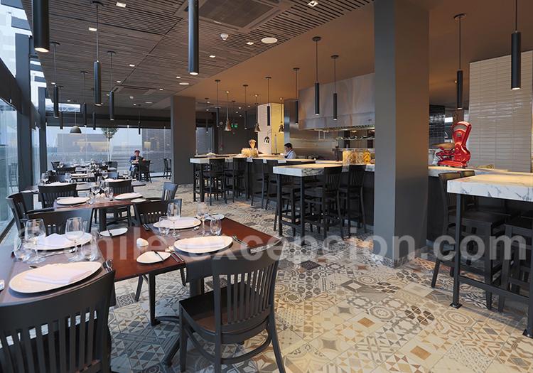 Restaurant de l'hôtel Cumbres Lastarria
