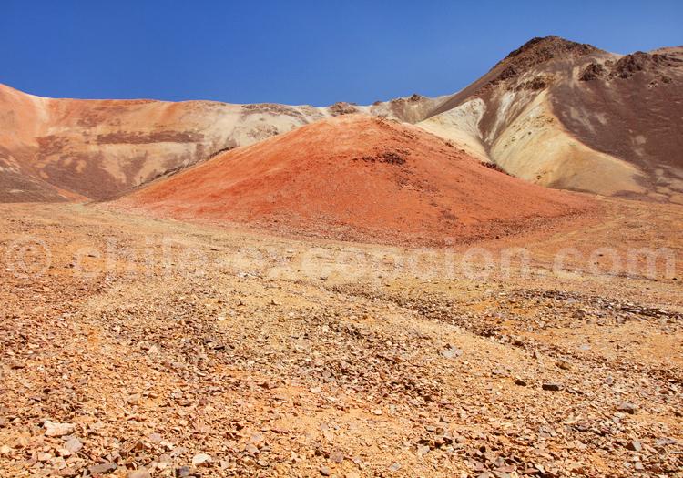 Formations géologiques de Suriplaza