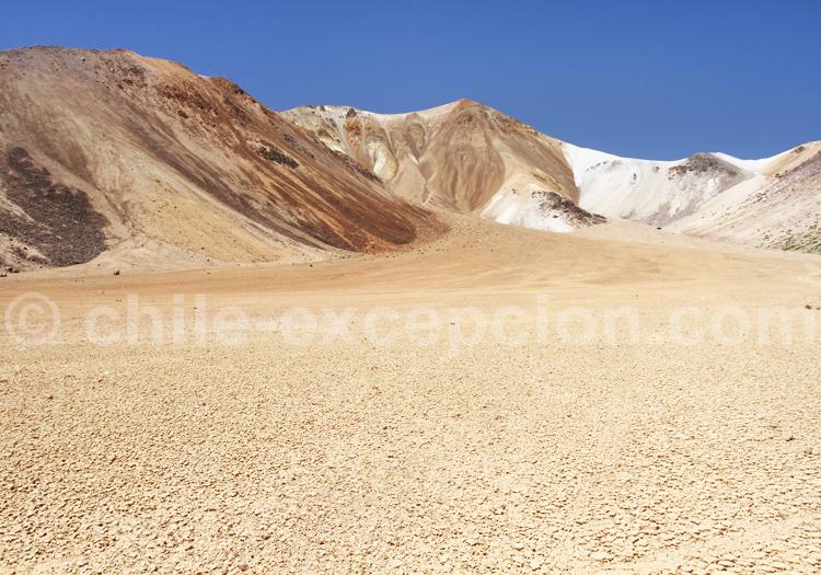 Formations volcaniques de Suriplaza, Chili