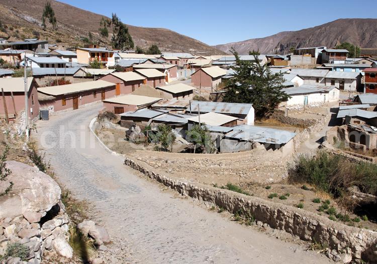 Hameau de Socoroma, Nord Chili