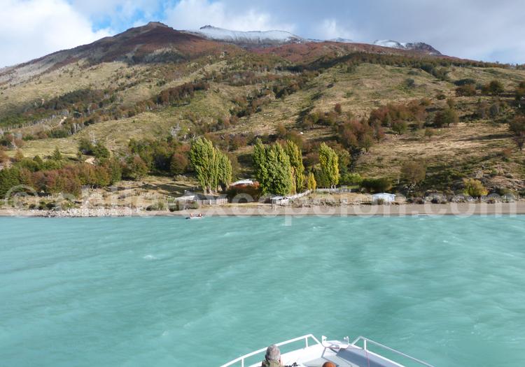 Navigation Lac O'Higgins