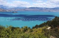Vue sur le lac General Carrera