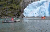 Au plus près des glaciers