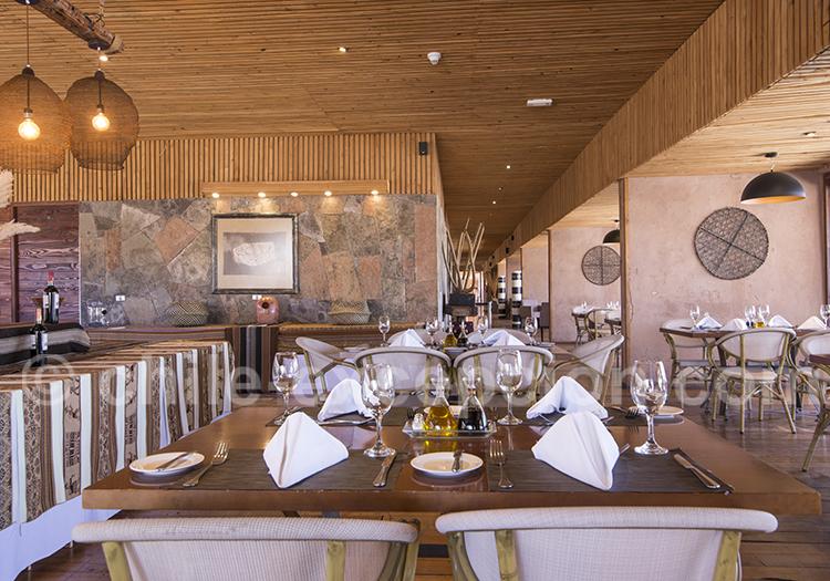 Cumbres Atacama, salle à manger