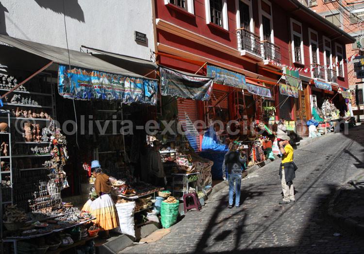 Mercado de brujos, La Paz