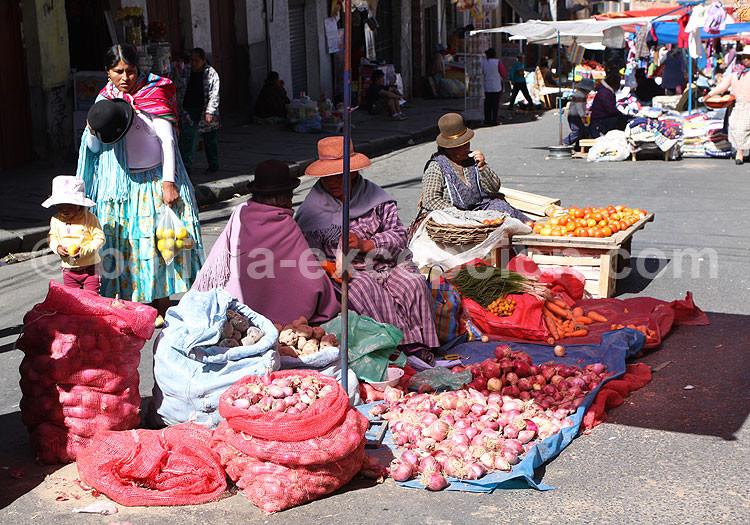 Marchés de La Paz