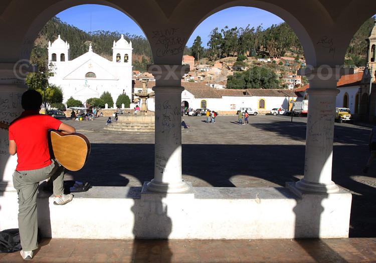 Place Recoleta, Sucre