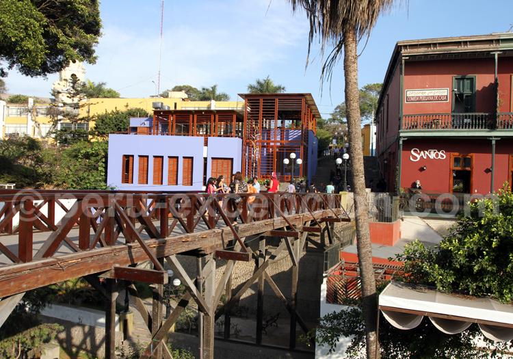 Pont des Soupirs de Barranco, Lima