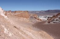Formations minérales, Vallée de la lune