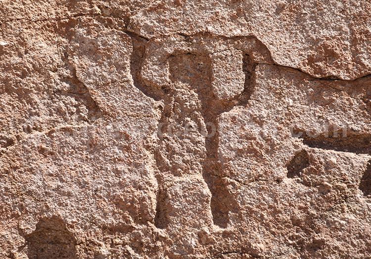 Art rupestre de Yerbas Buenas au Chili