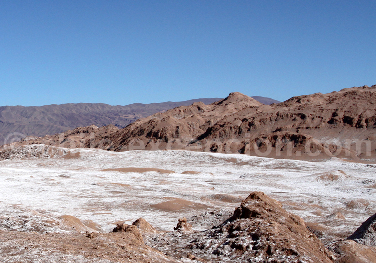 Paysage lunaire, Atacama