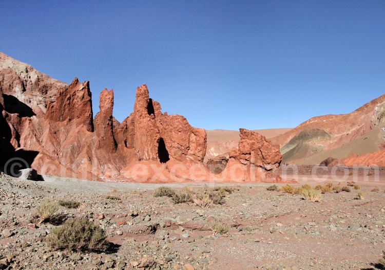 Formations minérales, Vallée Arco Iris