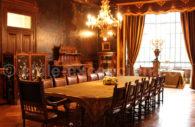 Salle à manger, résidence Braun