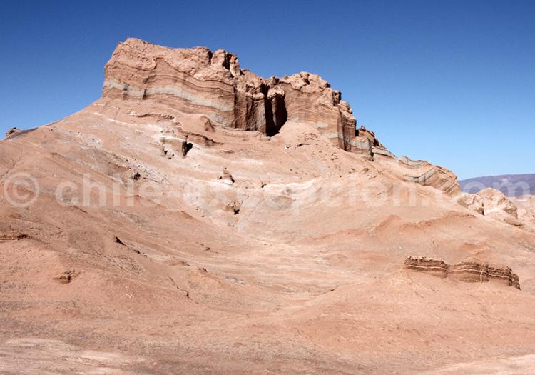 Formation rocheuse, Vallée de la lune