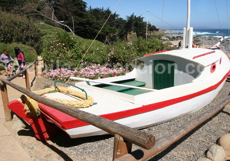 Barque de pêcheur, Isla Negra