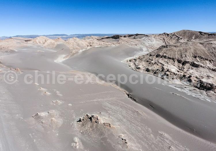 Atacama vu du ciel - Crédit Bernard Courtois