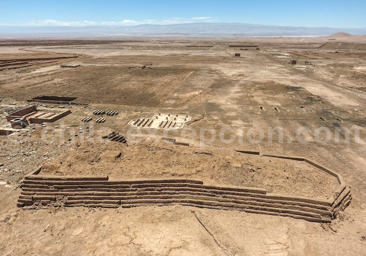 Ruines, Atacama - Crédit Bernard Courtois