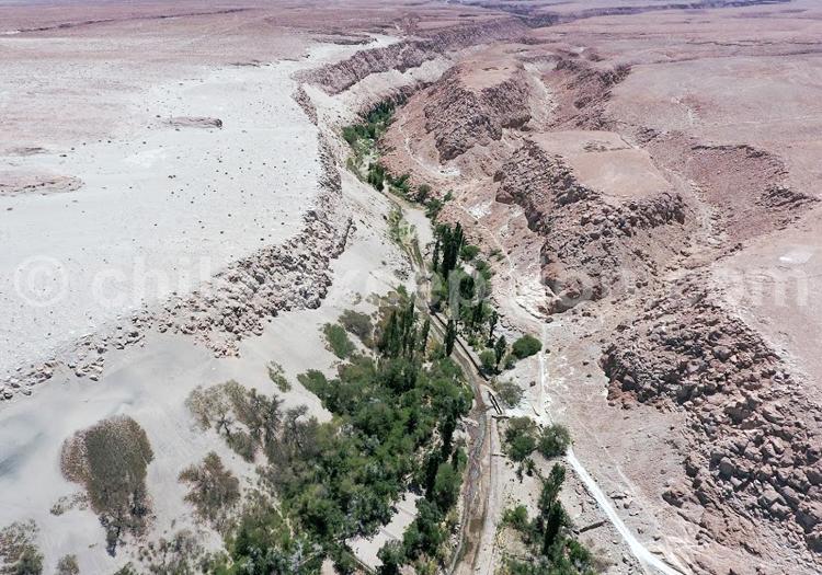 Atacama par les airs - Crédit Bernard Courtois