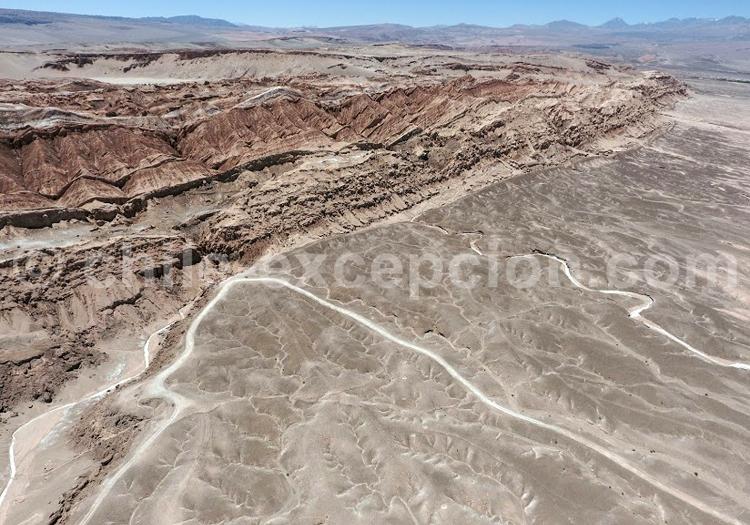 Valle de la Muerte - Crédit Bernard Courtois