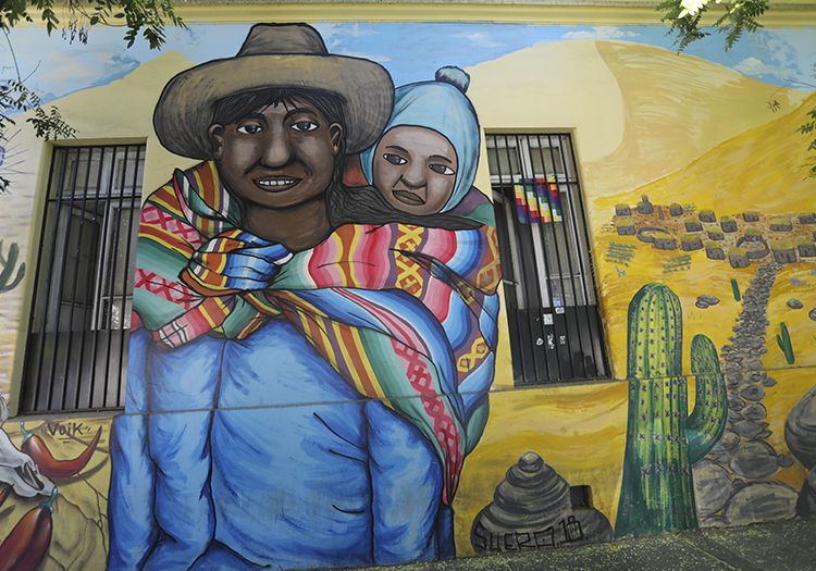 Street Art quartier Yunguay