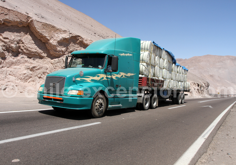 Transporteur chilien
