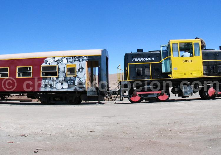 Train Ferronor du Nord du Chili
