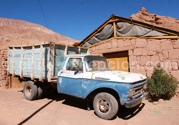 Pick-up dans le Nord du Chili