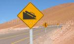 Signalisation sur les routes chiliennes