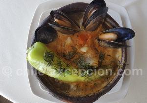 Moules de Chiloé au poivron