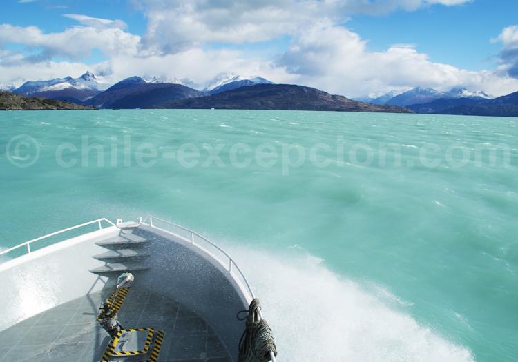Eaux glaciaires, Patagonie chilienne