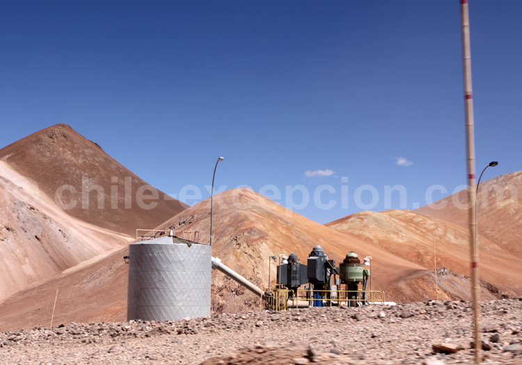 Désert semi-aride du Nord du Chili