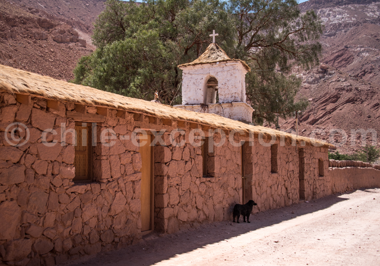 Chapelle, altiplano chilien